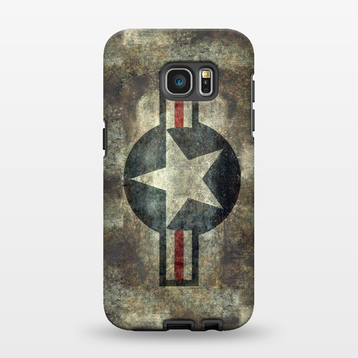 AC1346484, Phone Cases, Galaxy S7 EDGE, StrongFit, Bruce Stanfield, Airforce Roundel Retro, Designers,