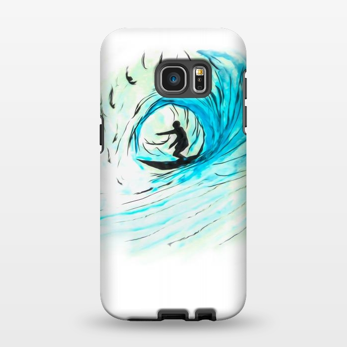 AC1346485, Phone Cases, Galaxy S7 EDGE, StrongFit, Bruce Stanfield, Surfer Pod, Designers,