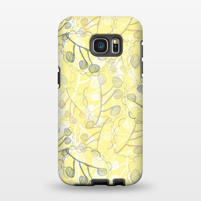 AC1346502, Phone Cases, Galaxy S7 EDGE, StrongFit, Rachael Taylor, Ghost Leaves, Designers,