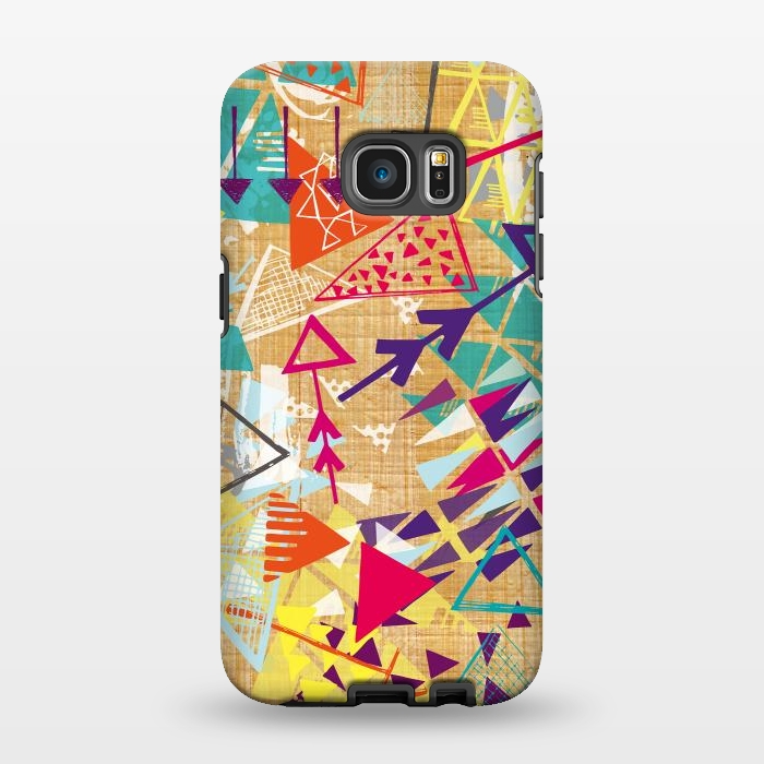 AC1346551, Phone Cases, Galaxy S7 EDGE, StrongFit, Rachael Taylor, Tribal Arrows, Designers,