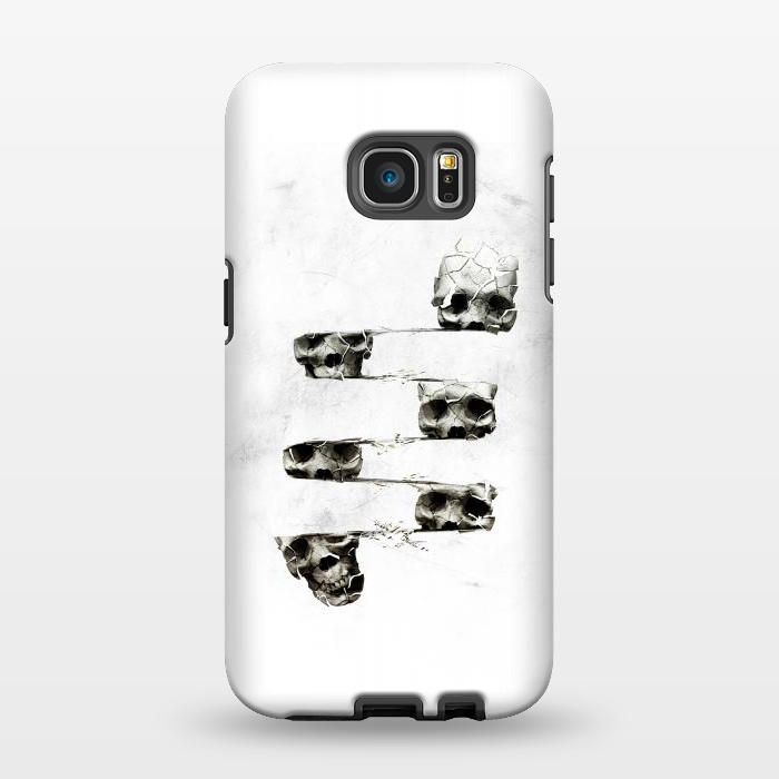 AC1346561, Phone Cases, Galaxy S7 EDGE, StrongFit, Ali Gulec, Skull 3, Designers,