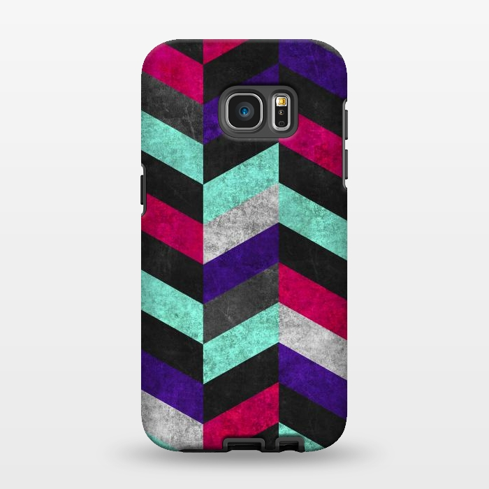 AC1346632, Phone Cases, Galaxy S7 EDGE, StrongFit, Diego Tirigall, GEOMETRIC MUNDO B, Designers,