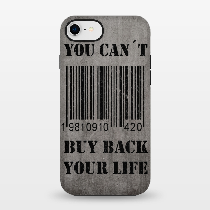 AC1347184, Phone Cases, iPhone 7, StrongFit, Nicklas Gustafsson, You can´t buy back your life, Designers,