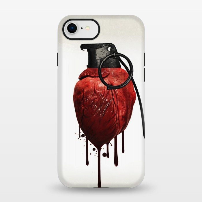 AC1347185, Phone Cases, iPhone 7, StrongFit, Nicklas Gustafsson, Heart Grenade, Designers,