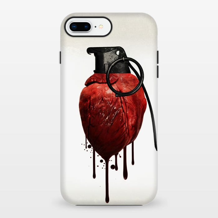 AC1348185, Phone Cases, iPhone 7 plus, StrongFit, Nicklas Gustafsson, Heart Grenade, Designers,