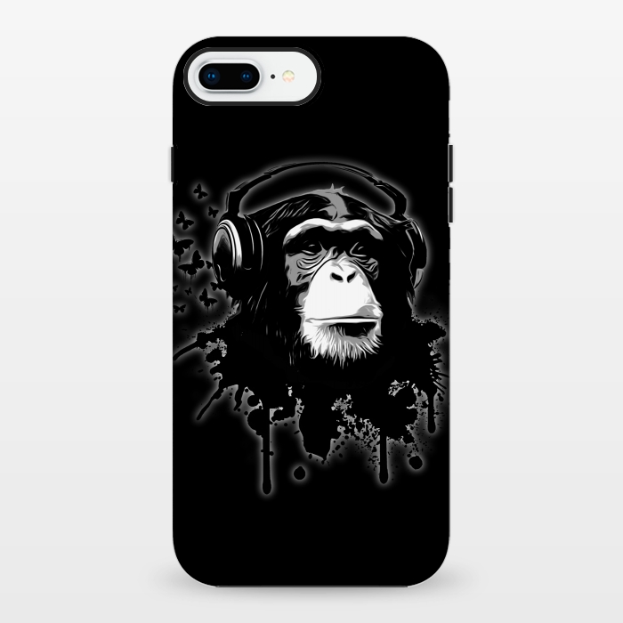AC1348421, Phone Cases, iPhone 7 plus, StrongFit, Nicklas Gustafsson, Monkey business Black, Designers,
