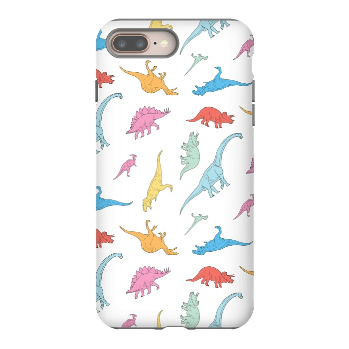 outlet store f2ed4 ffd3c Dino - StrongFit iPhone 8/7 plus Cases | ArtsCase