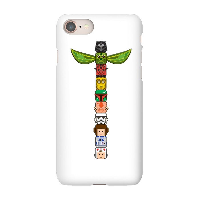 AC-00011403, Phone Cases, iPhone 7, SlimFit, Manos Papatheodorou, Star Wars Totem, Designers,star wars,totem,pole,movie,film
