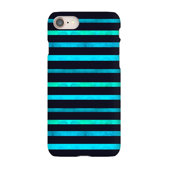 AC-00011656, Phone Cases, iPhone 7, SlimFit, Amaya Brydon, Surf Stripes, Designers,surf,stripes,ocean,geometric,abstract