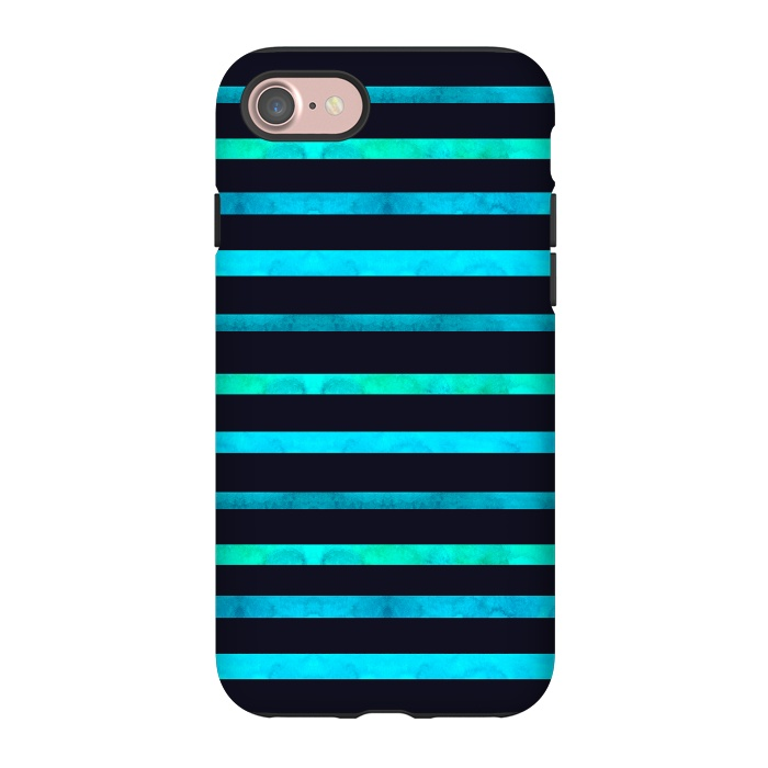 AC-00011657, Phone Cases, iPhone 7, StrongFit, Amaya Brydon, Surf Stripes, Designers,surf,stripes,ocean,geometric,abstract