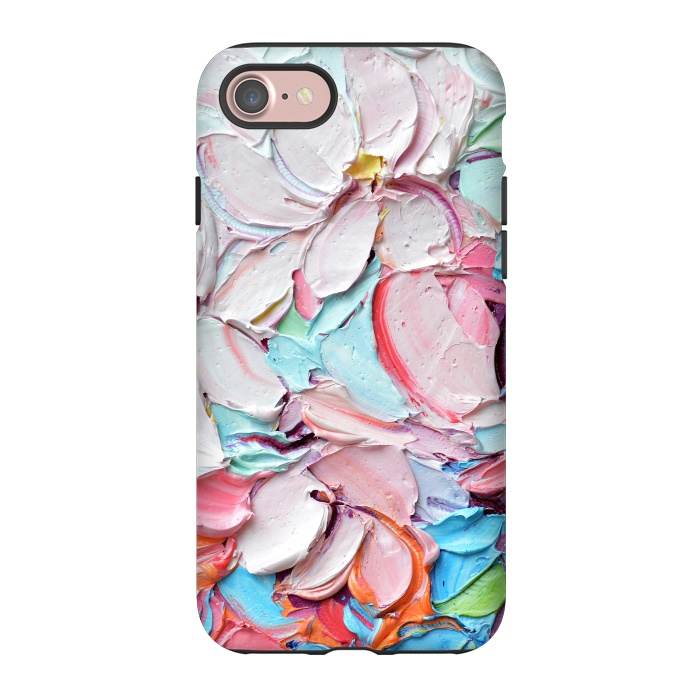 AC-00013758, Phone Cases, iPhone 7, StrongFit, Ann Marie Coolick, Cherry Blossom Bouquet, Designers,cherry blossoms,spring,flowers,pink,floral,texture,chic