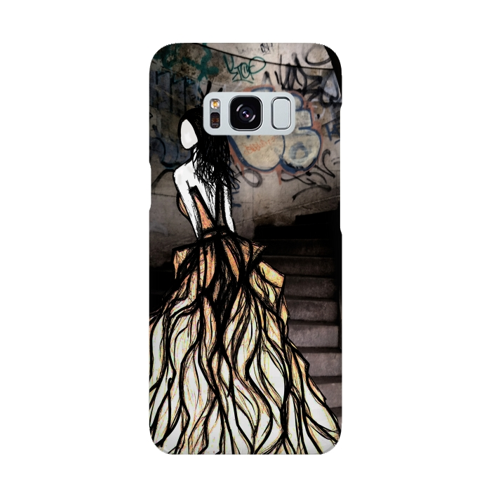 AC-00015864, Phone cases, Galaxy S8, SlimFit Galaxy S8, Amy Smith, Escape, Designers,