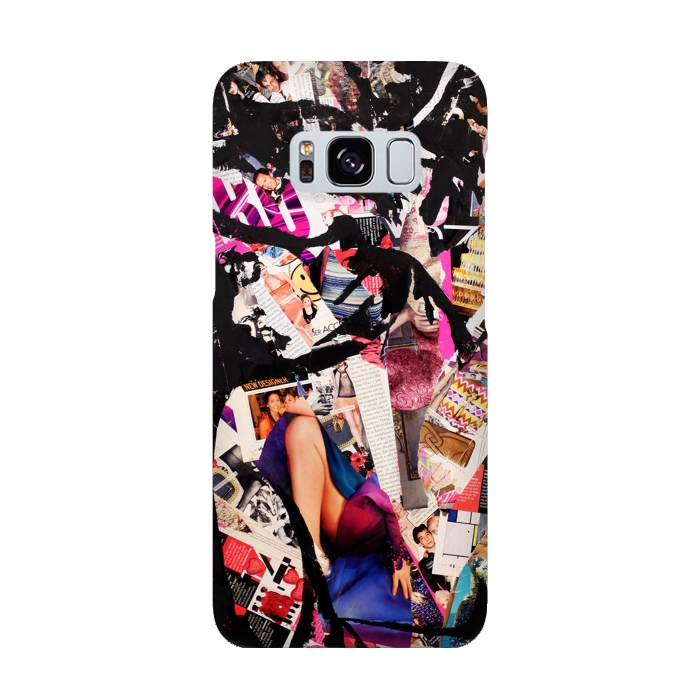 AC-00015883, Phone cases, Galaxy S8, SlimFit Galaxy S8, Amy Smith, F_cked, Designers,