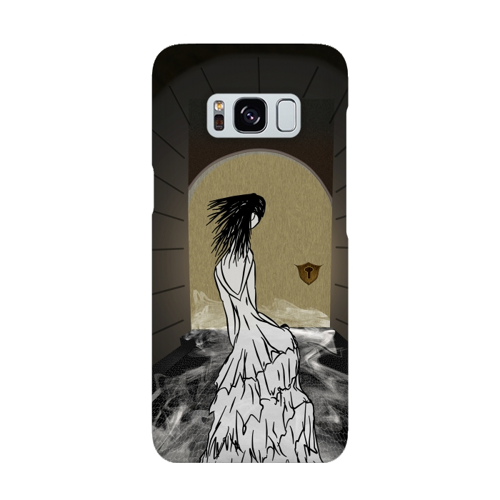 AC-00015886, Phone cases, Galaxy S8, SlimFit Galaxy S8, Amy Smith, Ghost in the Hallway, Designers,