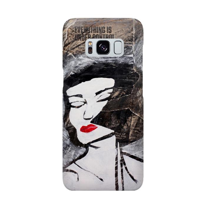 AC-00015887, Phone cases, Galaxy S8, SlimFit Galaxy S8, Amy Smith, Under Control, Designers,