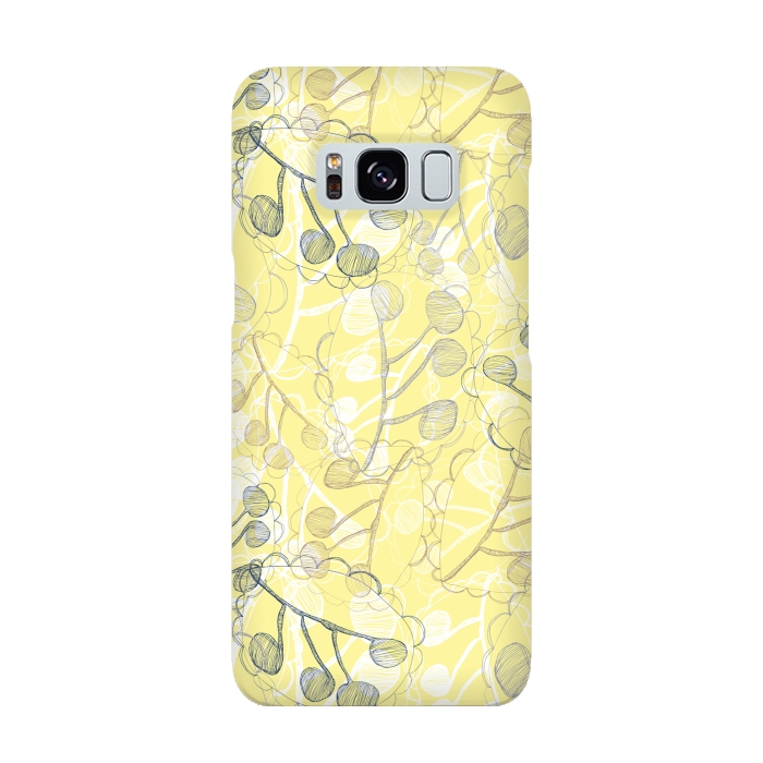 AC-00015895, Phone cases, Galaxy S8, SlimFit Galaxy S8, Rachael Taylor, Ghost Leaves, Designers,
