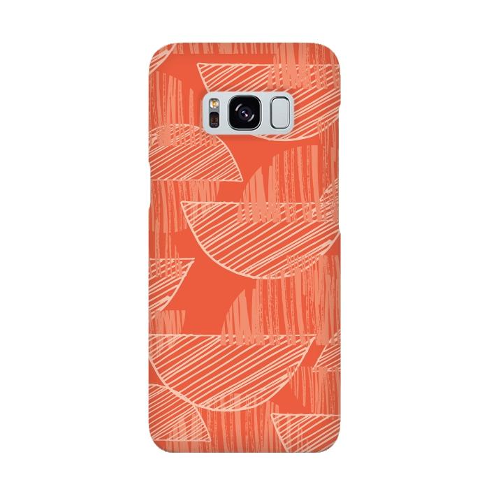 AC-00015901, Phone cases, Galaxy S8, SlimFit Galaxy S8, Rachael Taylor, Orange Arcs, Designers,