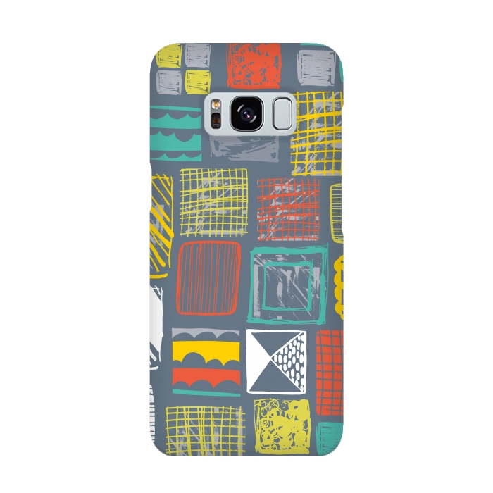 AC-00015903, Phone cases, Galaxy S8, SlimFit Galaxy S8, Rachael Taylor, Square Metropolis Leaves, Designers,