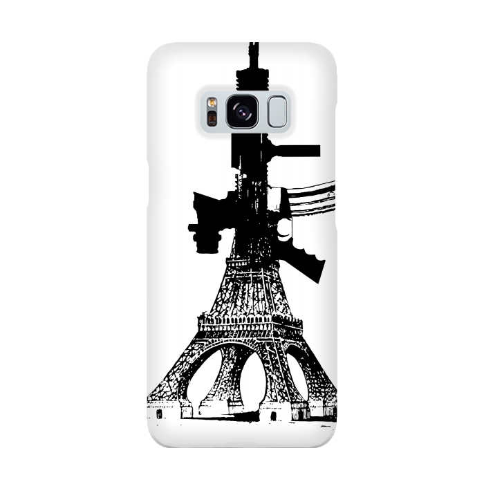 AC-00015907, Phone cases, Galaxy S8, SlimFit Galaxy S8, Brandon Combs, Eiffel Power, Designers,
