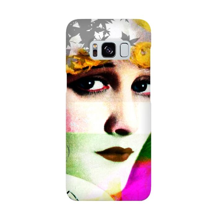 AC-00015910, Phone cases, Galaxy S8, SlimFit Galaxy S8, Brandon Combs, Miss Moon, Designers,