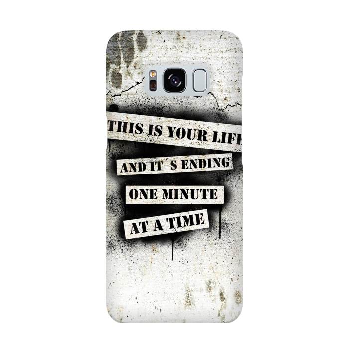 AC-00015925, Phone cases, Galaxy S8, SlimFit Galaxy S8, Nicklas Gustafsson, This is your life, Designers,