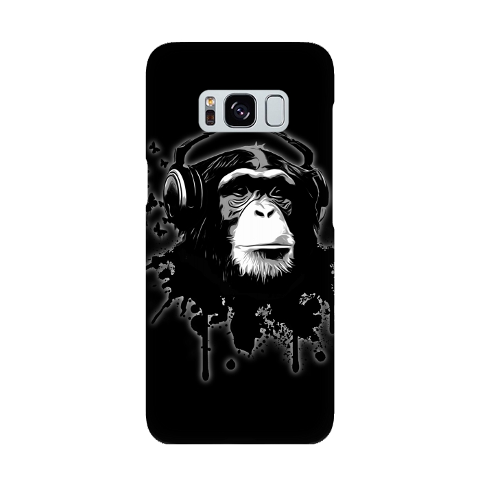 AC-00015929, Phone cases, Galaxy S8, SlimFit Galaxy S8, Nicklas Gustafsson, Monkey business Black, Designers,