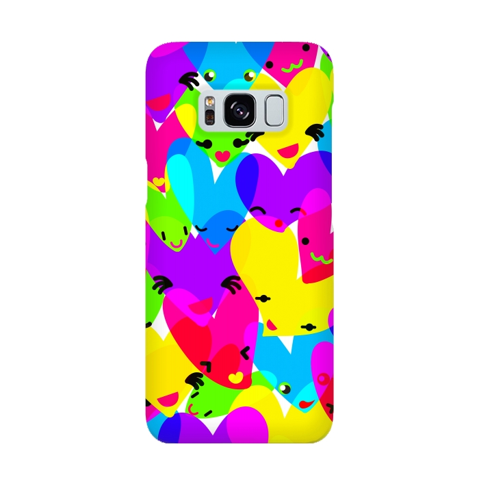AC-00015933, Phone cases, Galaxy S8, SlimFit Galaxy S8, MaJoBV, Sweet Hearts, Designers,