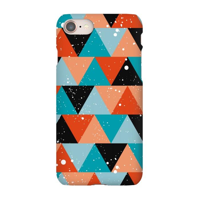 AC-00018017, Phone Cases, iPhone 7, SlimFit, Kimrhi Studios, Champ, Designers,modern,geo,triangle,paint