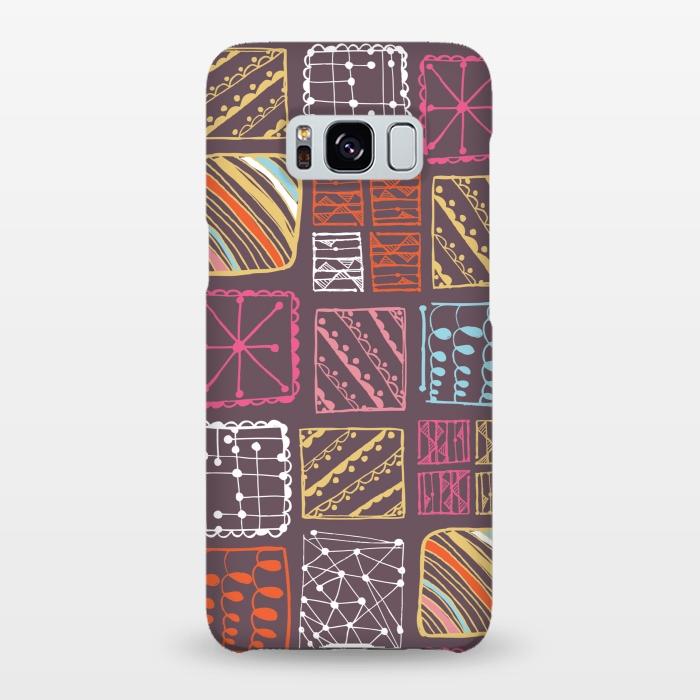 AC-00019972, Phone cases, Galaxy S8+, Galaxy S8 plus, SlimFit Galaxy S8+, SlimFit Galaxy S8 plus, Rachael Taylor, Doodle Squares, Designers,