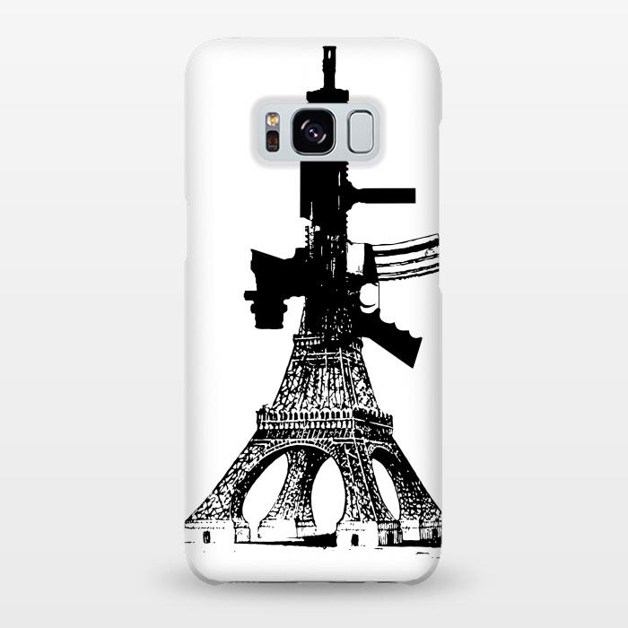 AC-00019985, Phone cases, Galaxy S8+, Galaxy S8 plus, SlimFit Galaxy S8+, SlimFit Galaxy S8 plus, Brandon Combs, Eiffel Power, Designers,