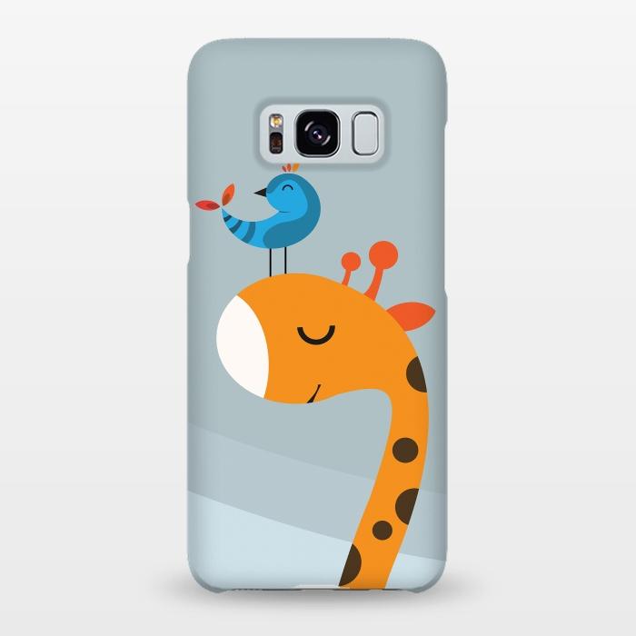 AC-00019995, Phone cases, Galaxy S8+, Galaxy S8 plus, SlimFit Galaxy S8+, SlimFit Galaxy S8 plus, Volkan Dalyan, Orange, Designers,