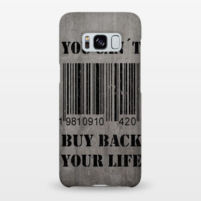 You can't buy back your life