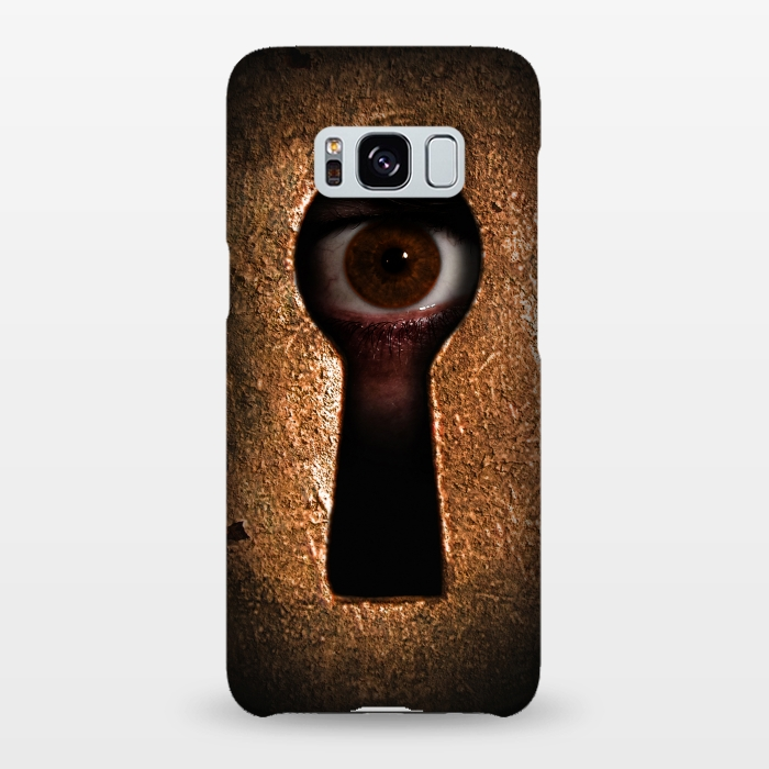 AC-00020009, Phone cases, Galaxy S8+, Galaxy S8 plus, SlimFit Galaxy S8+, SlimFit Galaxy S8 plus, Nicklas Gustafsson, Who is watching you, Designers,