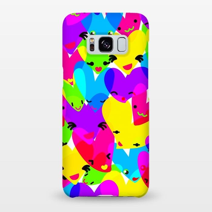 AC-00020011, Phone cases, Galaxy S8+, Galaxy S8 plus, SlimFit Galaxy S8+, SlimFit Galaxy S8 plus, MaJoBV, Sweet Hearts, Designers,