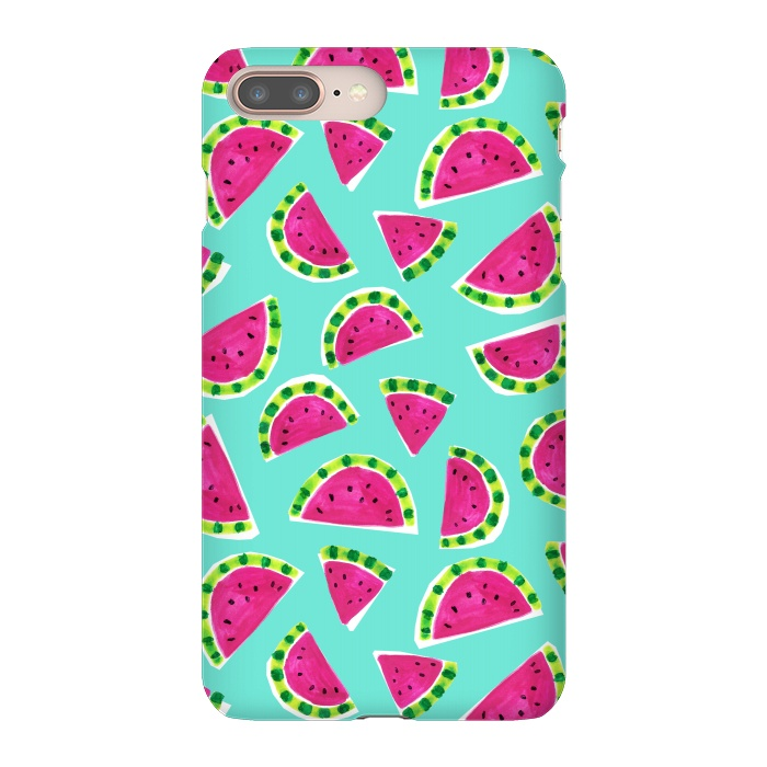 uk availability 49db6 a16eb iPhone 8/7 plus Cases painted watermelon by Laura Grant | ArtsCase
