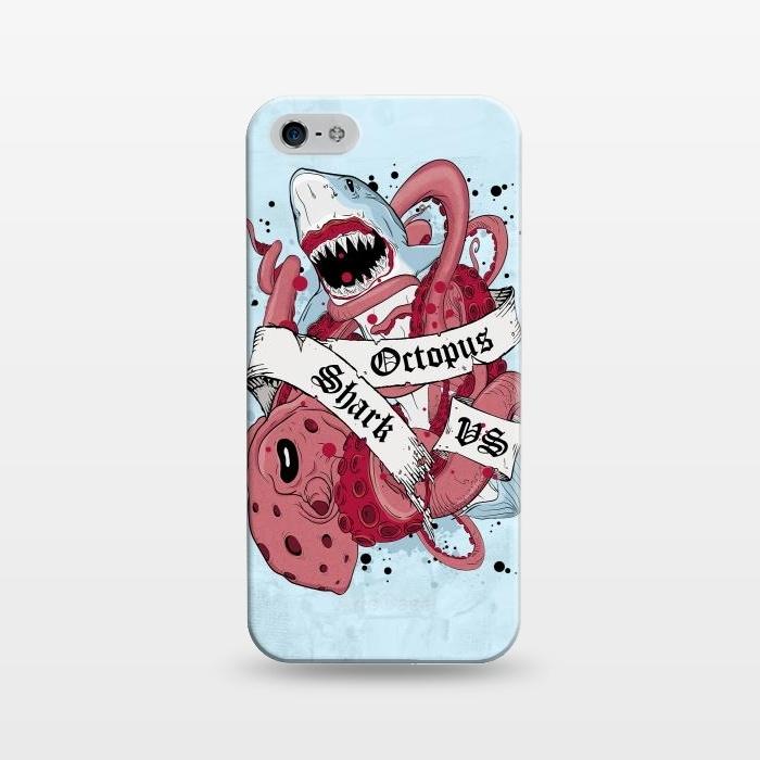 Shark vs Octopus