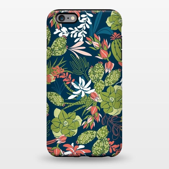 Succulent Garden Blue Iphone 6 6s Plus Cases Artscase