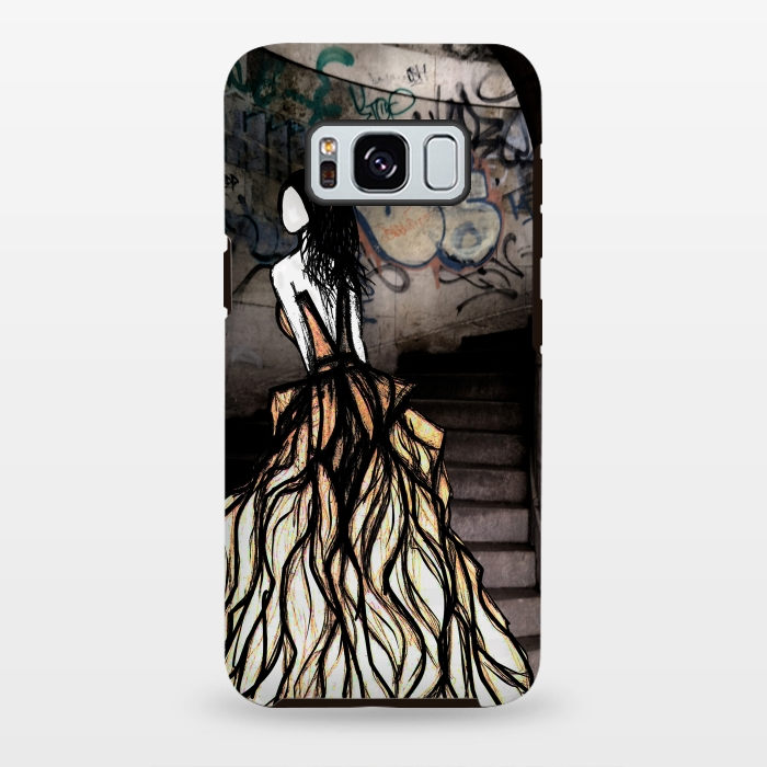 AC-00028742, Phone cases, Galaxy S8+, Galaxy S8 plus, StrongFit Galaxy S8+, StrongFit Galaxy S8 plus, Amy Smith, Escape, Designers, Tough Cases,