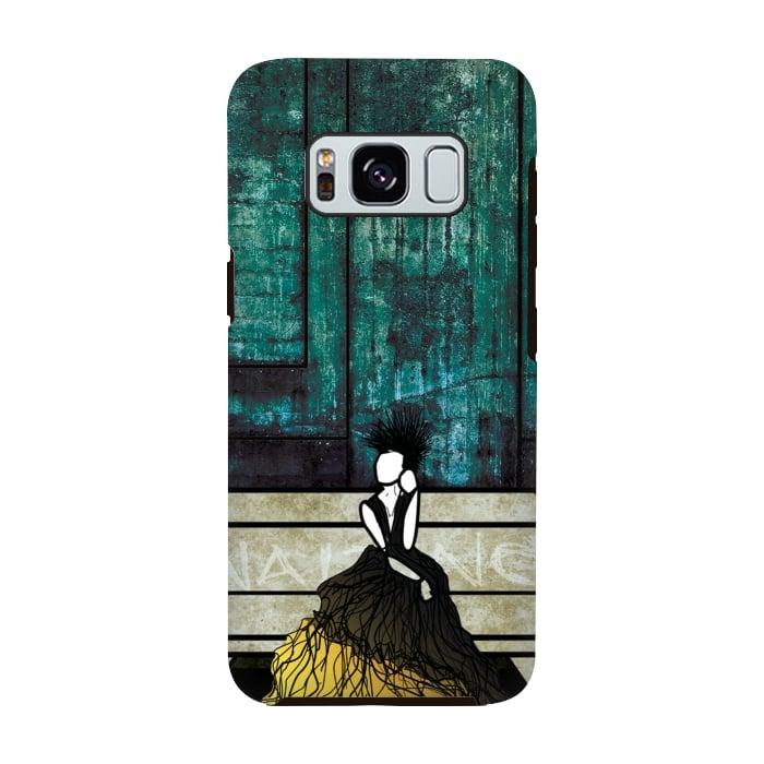 AC-00028746, Phone cases, Galaxy S8, Galaxy S8 plus, StrongFit Galaxy S8, StrongFit Galaxy S8, Amy Smith, Waiting, Designers, Tough Cases,