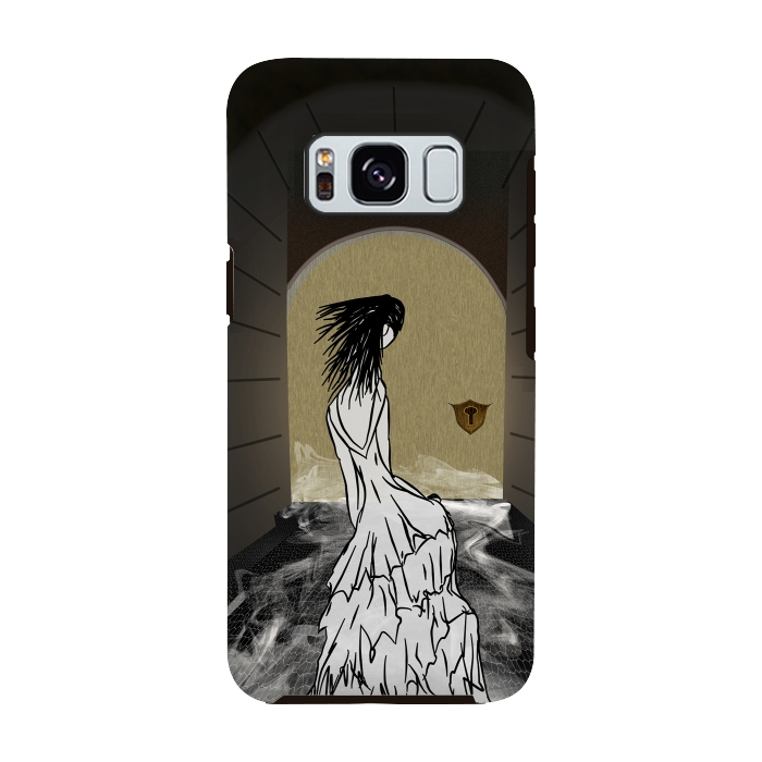 AC-00028747, Phone cases, Galaxy S8, Galaxy S8 plus, StrongFit Galaxy S8, StrongFit Galaxy S8, Amy Smith, Ghost in the Hallway, Designers, Tough Cases,