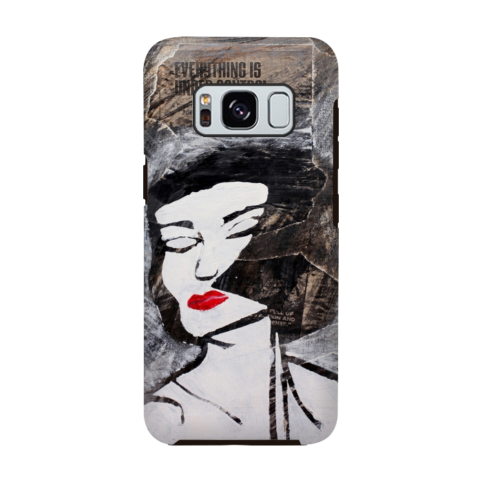 AC-00028748, Phone cases, Galaxy S8, Galaxy S8 plus, StrongFit Galaxy S8, StrongFit Galaxy S8, Amy Smith, Under Control, Designers, Tough Cases,