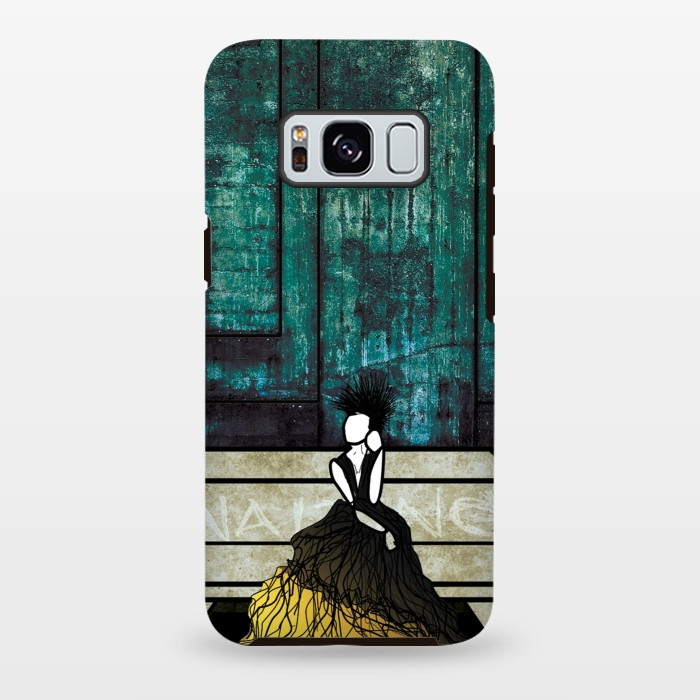 AC-00028753, Phone cases, Galaxy S8+, Galaxy S8 plus, StrongFit Galaxy S8+, StrongFit Galaxy S8 plus, Amy Smith, Waiting, Designers, Tough Cases,