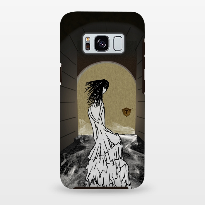 AC-00028754, Phone cases, Galaxy S8+, Galaxy S8 plus, StrongFit Galaxy S8+, StrongFit Galaxy S8 plus, Amy Smith, Ghost in the Hallway, Designers, Tough Cases,