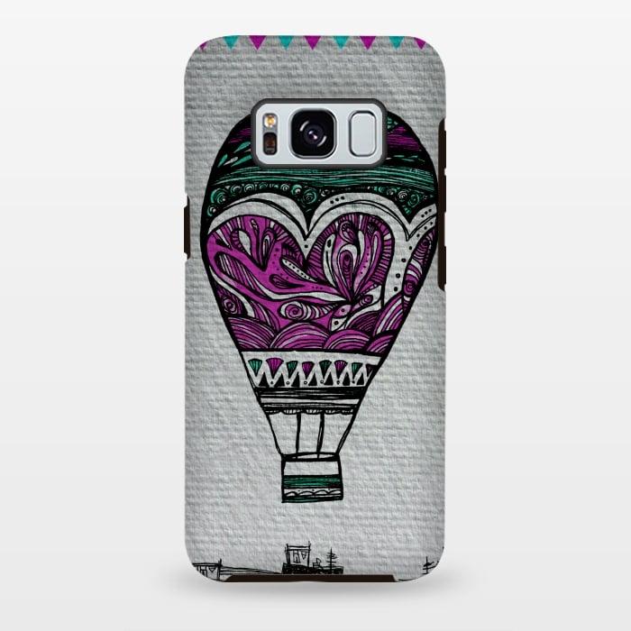 AC-00028759, Phone cases, Galaxy S8+, Galaxy S8 plus, StrongFit Galaxy S8+, StrongFit Galaxy S8 plus, Maria Teresa Canepa, Llevame Lejos, Designers, Tough Cases,