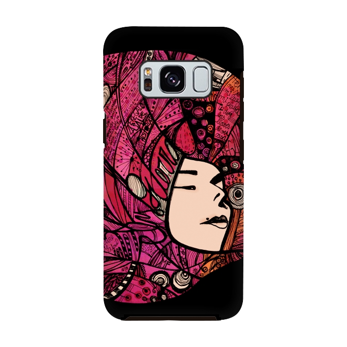AC-00028764, Phone cases, Galaxy S8, Galaxy S8 plus, StrongFit Galaxy S8, StrongFit Galaxy S8, Maria Teresa Canepa, Ely Guerra, Designers, Tough Cases,