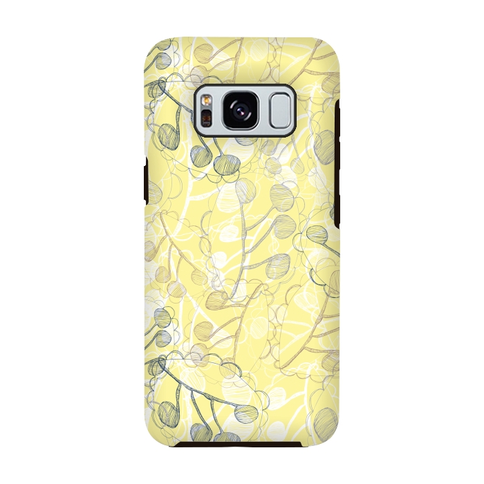 AC-00028766, Phone cases, Galaxy S8, Galaxy S8 plus, StrongFit Galaxy S8, StrongFit Galaxy S8, Rachael Taylor, Ghost Leaves, Designers, Tough Cases,