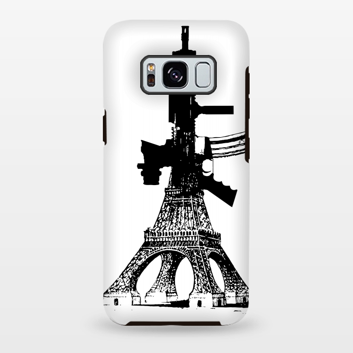 AC-00028789, Phone cases, Galaxy S8+, Galaxy S8 plus, StrongFit Galaxy S8+, StrongFit Galaxy S8 plus, Brandon Combs, Eiffel Power, Designers, Tough Cases,