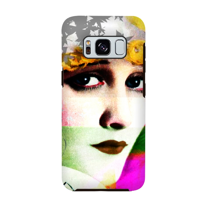 AC-00028797, Phone cases, Galaxy S8, Galaxy S8 plus, StrongFit Galaxy S8, StrongFit Galaxy S8, Brandon Combs, Miss Moon, Designers, Tough Cases,