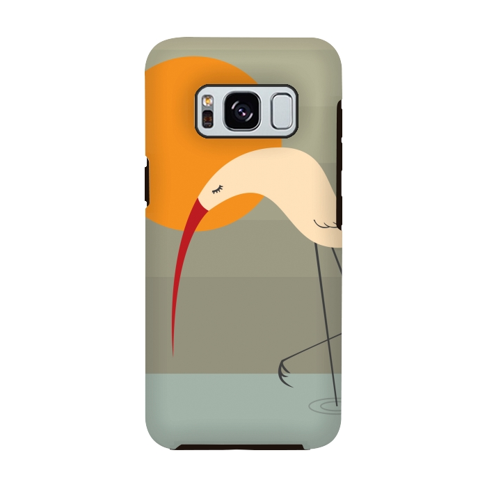AC-00028798, Phone cases, Galaxy S8, Galaxy S8 plus, StrongFit Galaxy S8, StrongFit Galaxy S8, Volkan Dalyan, Bird, Designers, Tough Cases,