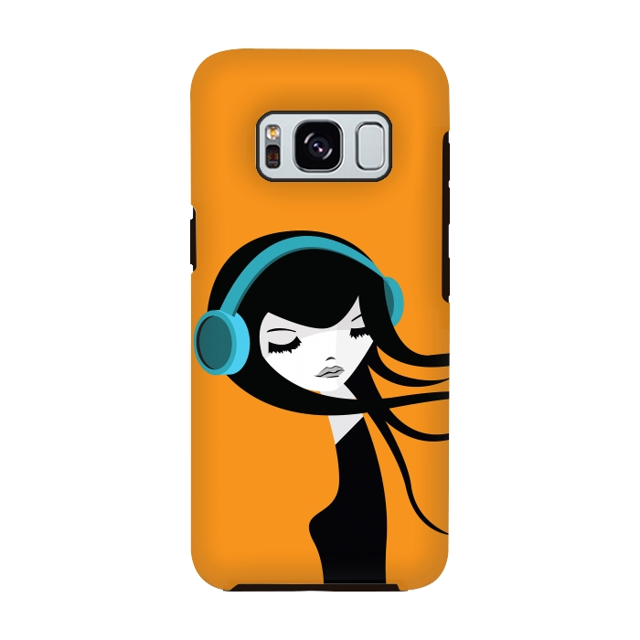 AC-00028801, Phone cases, Galaxy S8, Galaxy S8 plus, StrongFit Galaxy S8, StrongFit Galaxy S8, Volkan Dalyan, Flow in the Music, Designers, Tough Cases,